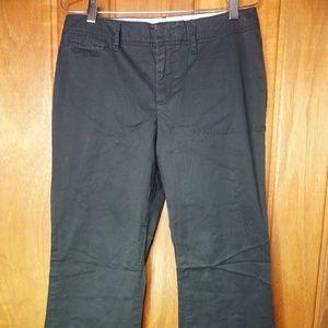 Womens GAP Stretch Trouser Corduroy Khaki Pants